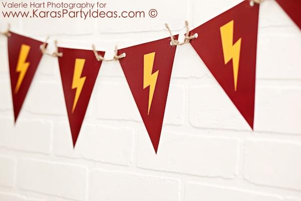 Harry Potter themed birthday party idea via Kara's Party Ideas | KarasPartyIdeas.com #harry #potter #decorations #printables #invitation #party #supplies #idea #cake #cupcakes #activities (75)