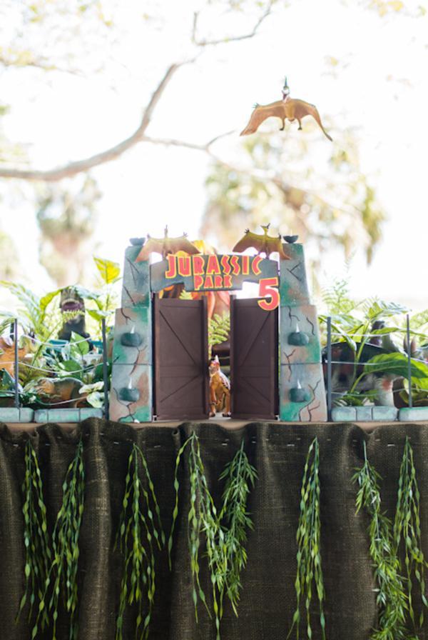 Kara S Party Ideas Jurassic Park Dinosaur Boy Birthday