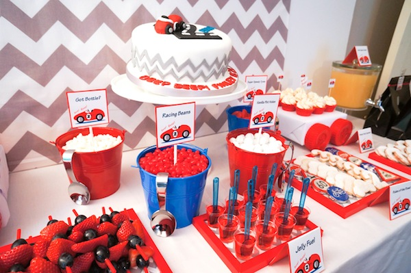 Race Car Birthday Party: Kara's Party Ideas Car Themed Boy 2nd Birthday Party