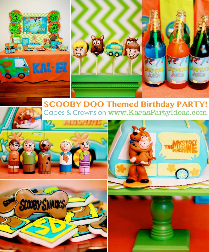 Scooby Doo Baby Shower Theme: Kara's Party Ideas Scooby Doo Boy Themed Birthday Party
