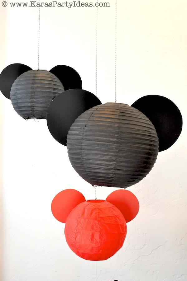 Mickey Mouse Birthday Party via Kara's Party Ideas | KarasPartyIdeas.com #mickey #mouse #cake #favor #decorations #supplies #birthday #party #ideas (8)