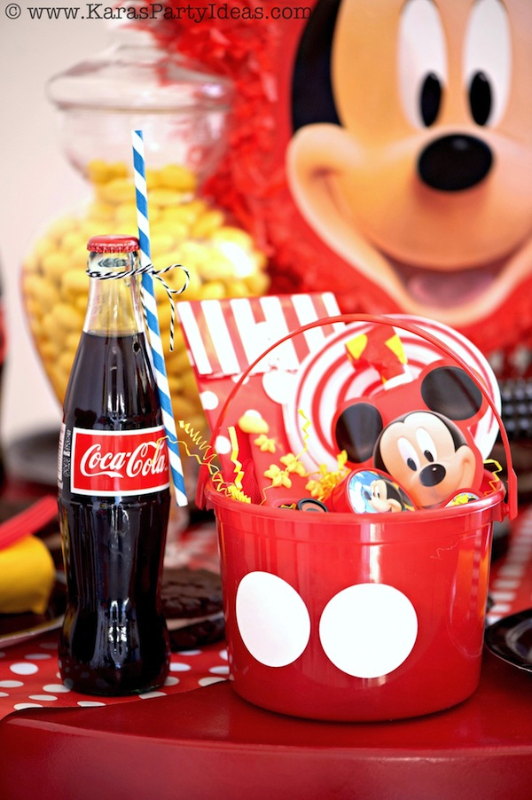 Kara S Party Ideas Mickey Mouse Themed Birthday Party