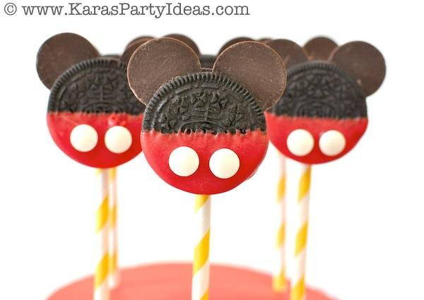 Mickey Mouse Birthday Party via Kara's Party Ideas | KarasPartyIdeas.com #mickey #mouse #cake #favor #decorations #supplies #birthday #party #ideas (31)