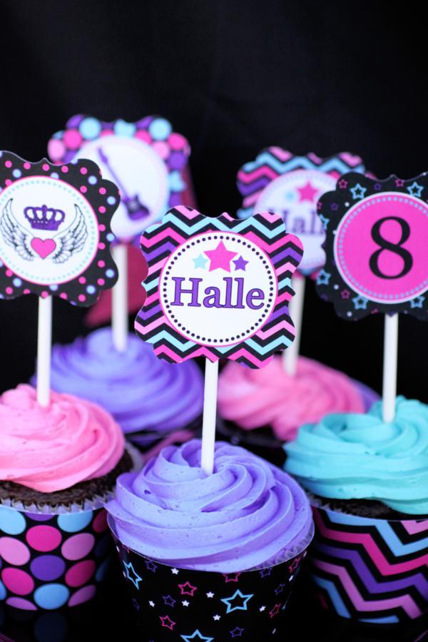 Princess Cupcake Decorations