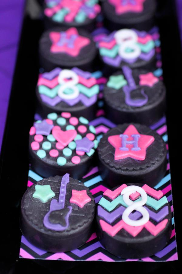 Kara S Party Ideas Girly Rock Star Dance Pink Birthday