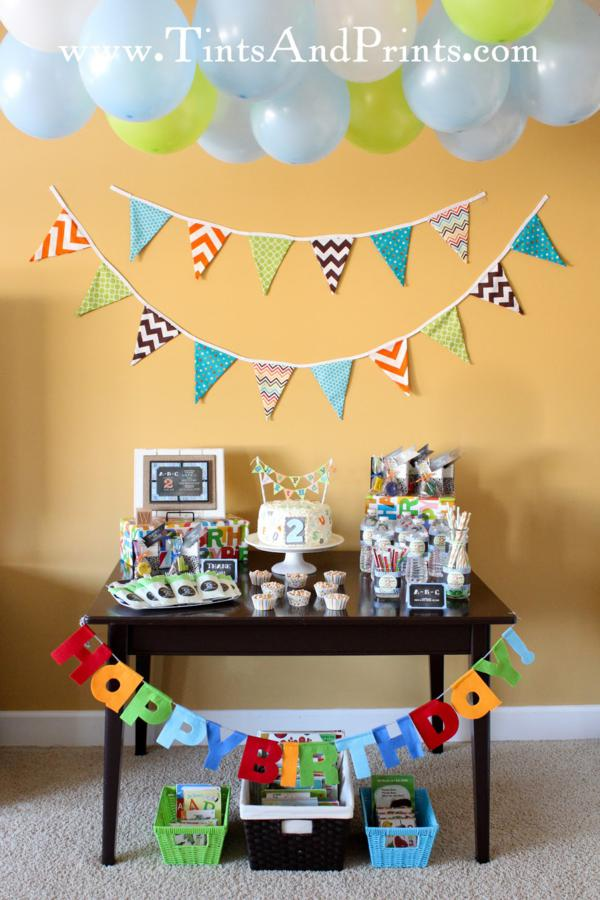 Alphabet ABC Party Via Karas Ideas