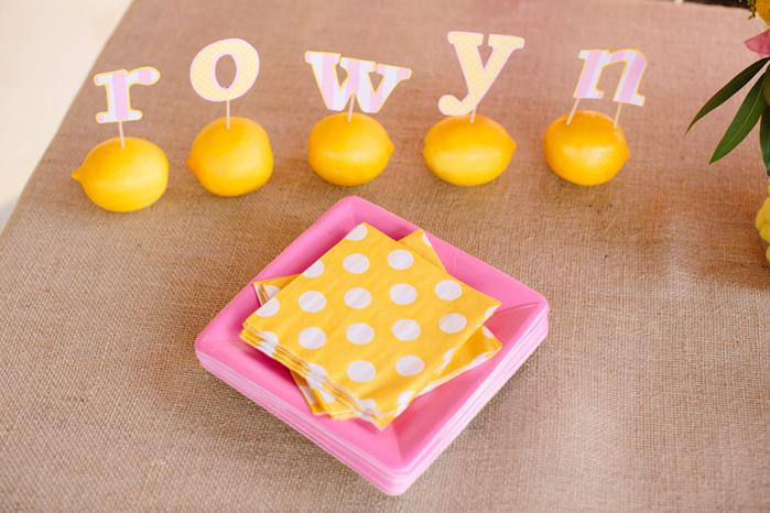 Karas Party Ideas Pink Lemonade Girl Summer 1st Birthday Party