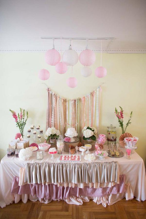 Kara S Party Ideas Shabby Chic Lace Birthday Party