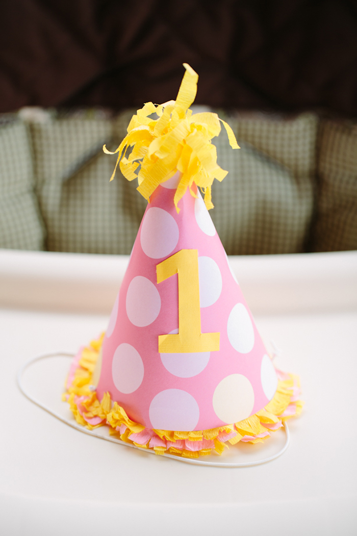 Kara S Party Ideas Pink Lemonade Girl Summer 1st Birthday