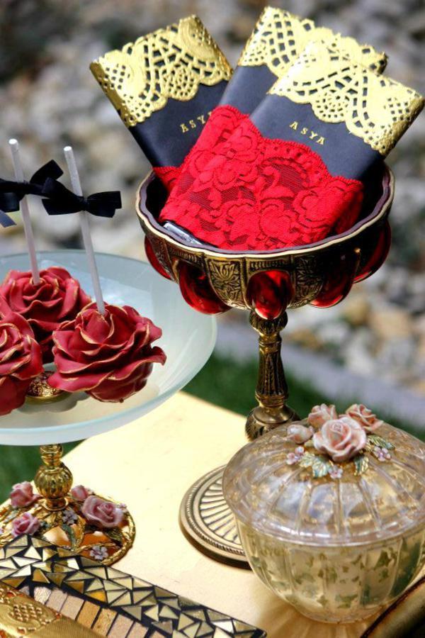 Kara S Party Ideas Flamenco Spanish Dancer Rose Themed