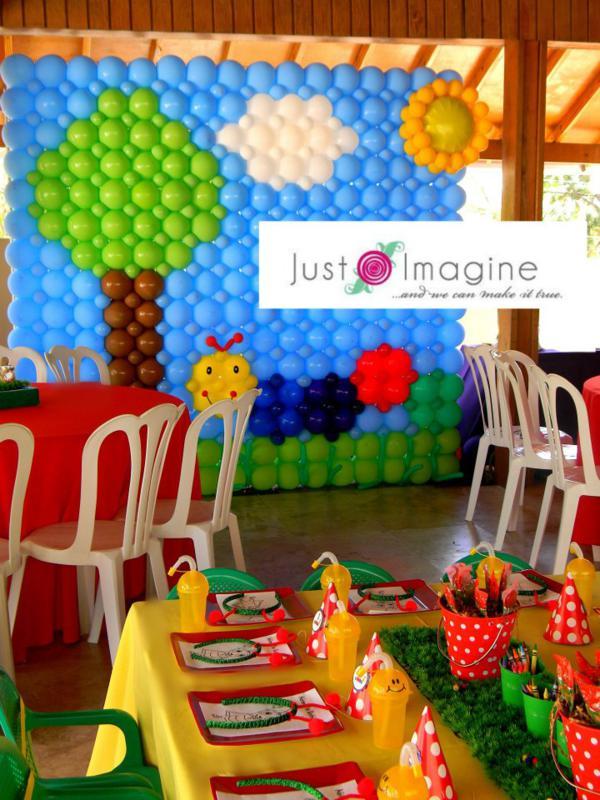 Balloon Center Piece