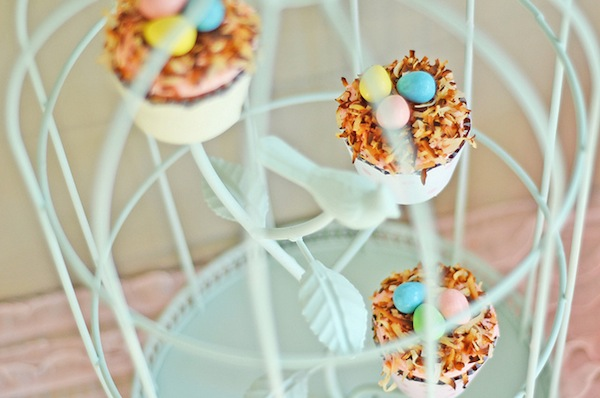Spring cookie decorating party with TONS of cute ideas! via Kara's Party Ideas KarasPartyIdeas.com #easter #spring #decorating #cookie #party #idea #supplies (1)