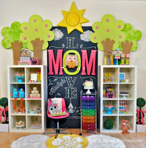 Kara's Party Ideas Mama Owl Birthday Party {Mother's Day