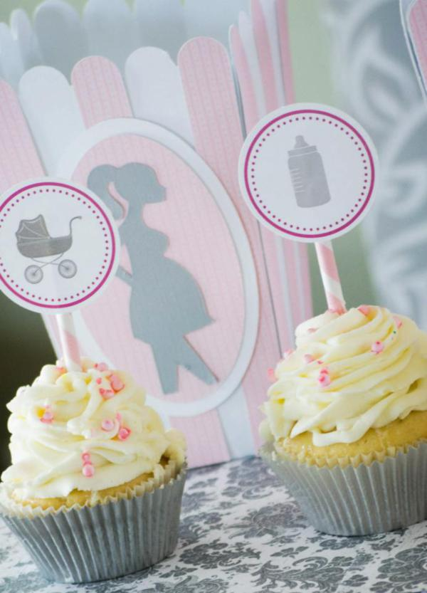 Princess Baby Shower Via Kara S Party Ideas Karaspartyideas Pink Gray