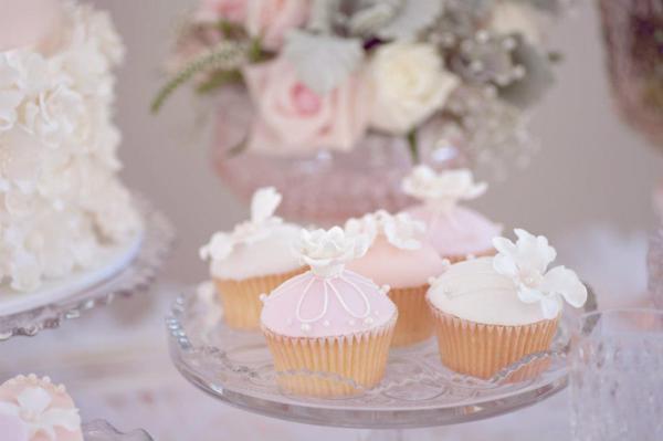 Kara S Party Ideas Vintage Pink Girl Christening Baptism