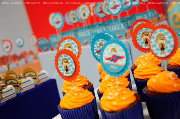 Aviator Birthday Party via Kara's Party Ideas | Kara'sPartyIdeas.com #aviator #birthday #party (8)
