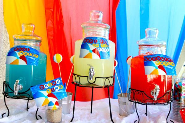 Kara S Party Ideas Beach Ball Birthday Party Supplies