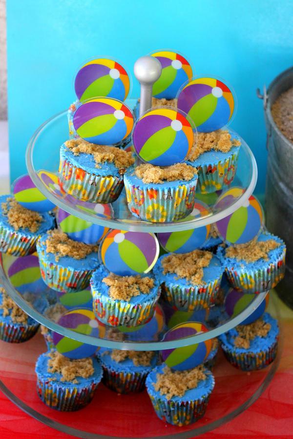Super Karas Party Ideas Beach Ball Birthday Party Supplies Planning Birthday Cards Printable Benkemecafe Filternl