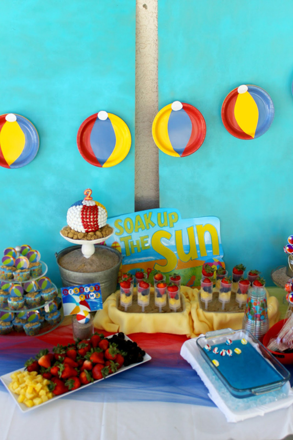 Kara s party ideas beach ball birthday supplies