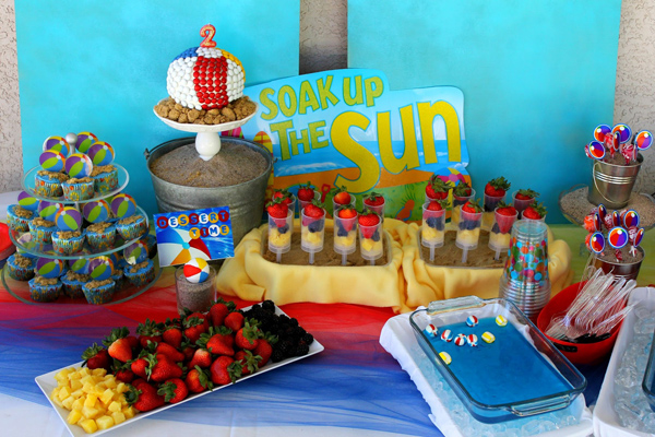 74 food ideas for beach party ideas and recipes for childrens
