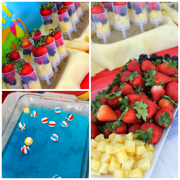 Kara S Party Ideas Beach Ball Birthday Party Supplies Planning Ideas