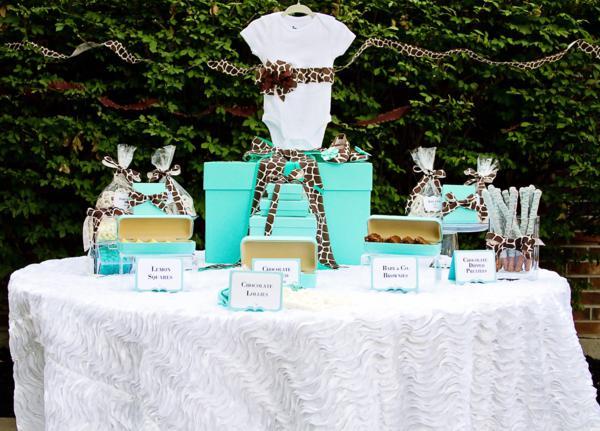 Kara's Party Ideas Baby & Co. Tiffany Blue Inspired Baby