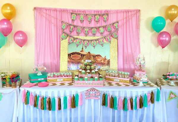 Kara S Party Ideas Carousel Cupcake Themed Birthday Party Ideas
