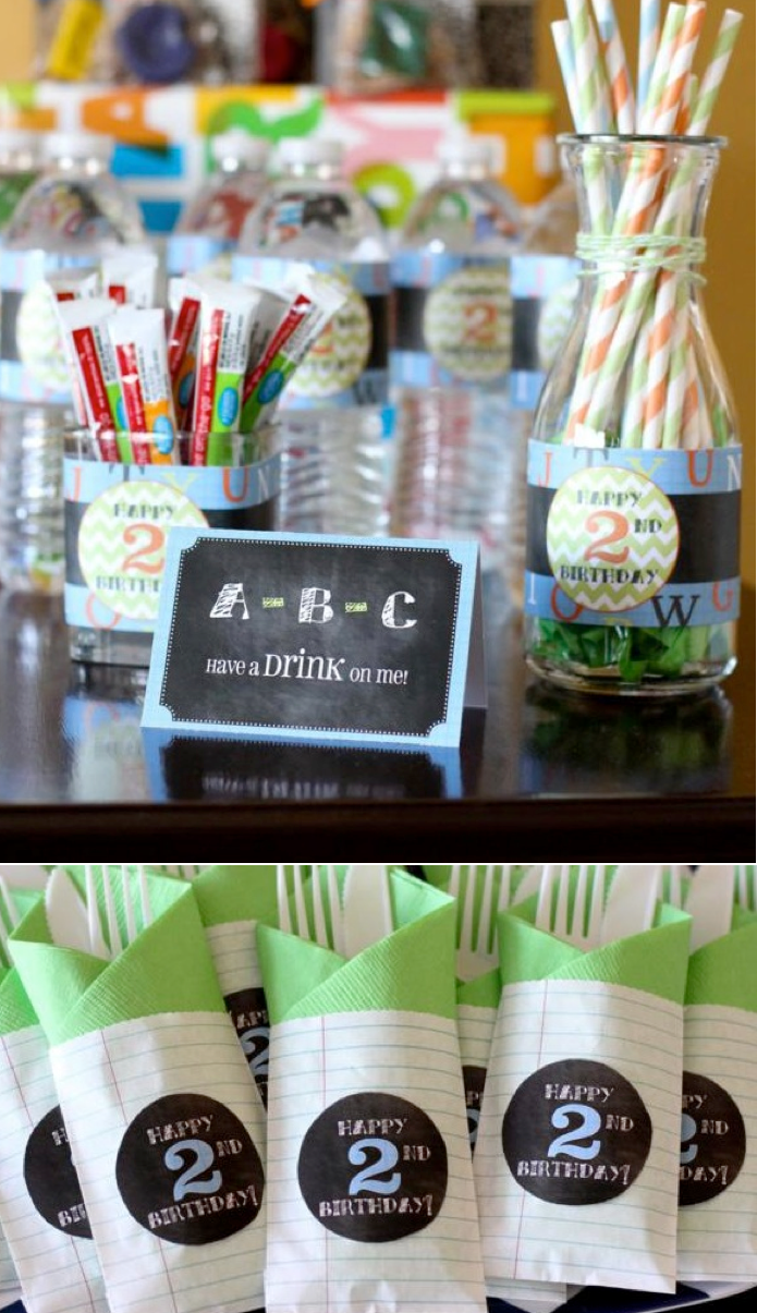 Cute Toddler Party Theme Alphabet ABC Birthday Via Karas Ideas Teacher