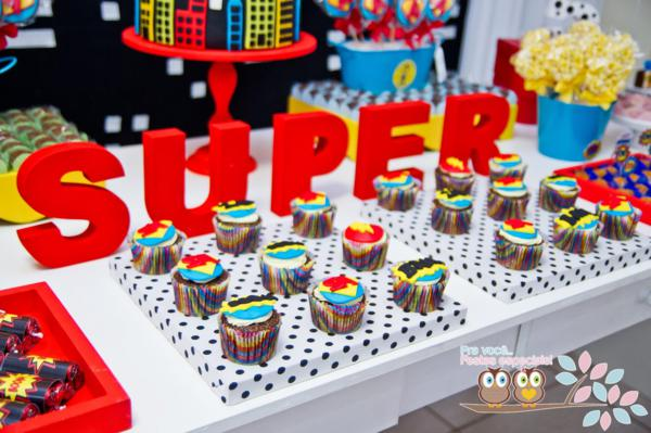 Superhero Birthday Party via Kara's Party Ideas | KarasPartyIdeas.com #superhero #super #hero #spiderman #superman #party #ideas (26)