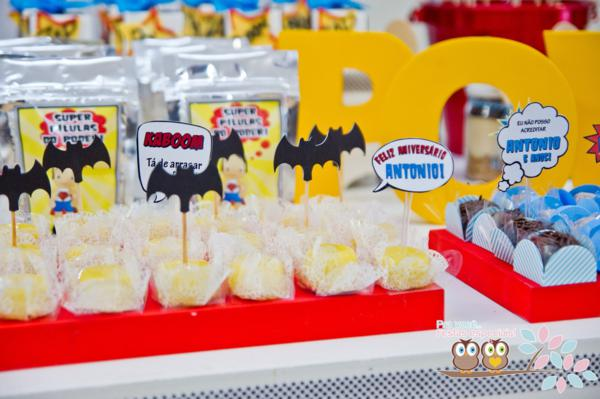 Superhero Birthday Party via Kara's Party Ideas | KarasPartyIdeas.com #superhero #super #hero #spiderman #superman #party #ideas (24)