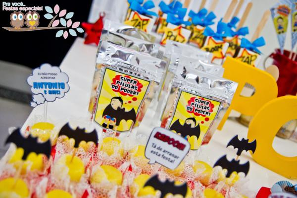 Superhero Birthday Party via Kara's Party Ideas | KarasPartyIdeas.com #superhero #super #hero #spiderman #superman #party #ideas (22)