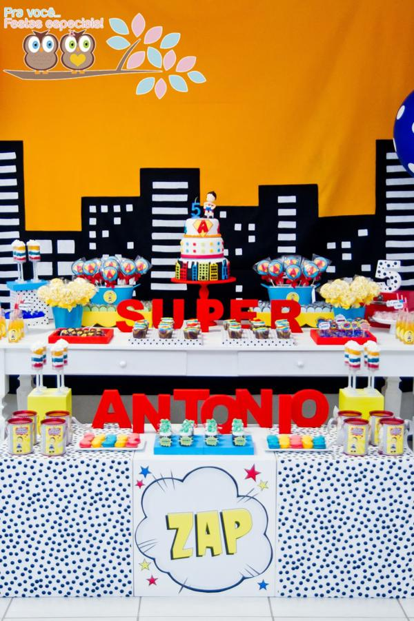 Superhero Birthday Party via Kara's Party Ideas | KarasPartyIdeas.com #superhero #super #hero #spiderman #superman #party #ideas (13)