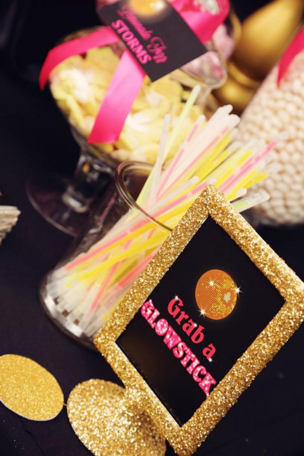 Kara S Party Ideas Disco Glam Birthday Party Planning