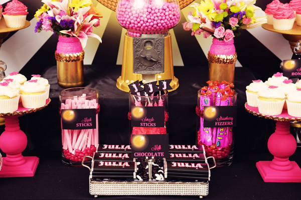 kara s party ideas disco glam birthday party planning ideas supplies