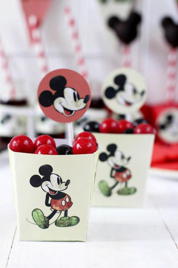 Vintage Mickey Mouse Party via Kara's Party Ideas | KarasPartyIdeas.com #disney #vintage #mickey #mouse #party #ideas (12)