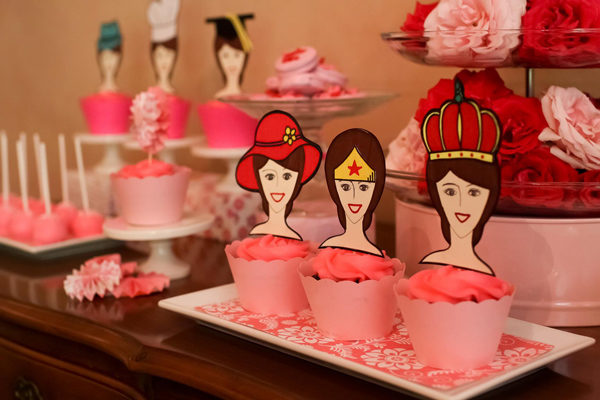 Hats Off To Mom Mother's Day Party via Kara's Party Ideas | Kara'sPartyIdeas.com #mothers #day #party #mom #holiday (22)