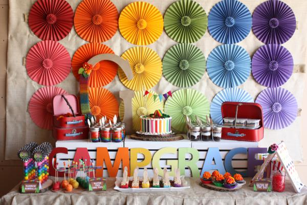 Kara 39 s party ideas camp arts crafts rainbow party kara for Arts and crafts for a 1 year old