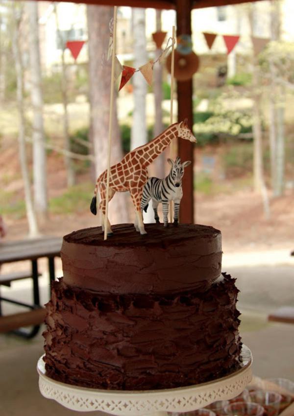 Kara's Party Ideas Girly Safari Themed 5th Birthday Party ...