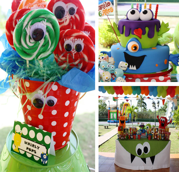 Monster Themed Birthday Party via Kara's Party Ideas | Kara'sPartyIdeas.com #monster #birthday #party (26)