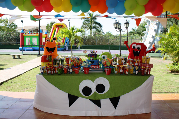 Monster Themed Birthday Party via Kara's Party Ideas | Kara'sPartyIdeas.com #monster #birthday #party (25)