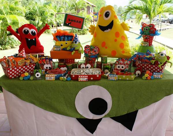 Monster Themed Birthday Party via Kara's Party Ideas | Kara'sPartyIdeas.com #monster #birthday #party (16)
