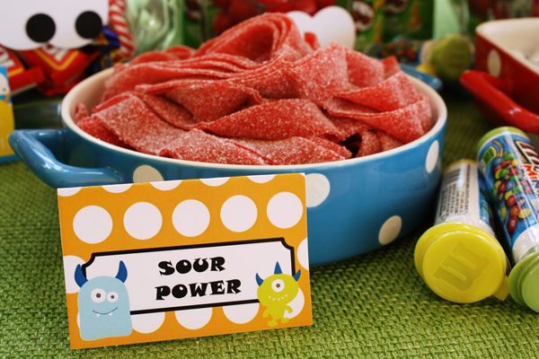 Monster Themed Birthday Party via Kara's Party Ideas | Kara'sPartyIdeas.com #monster #birthday #party (14)