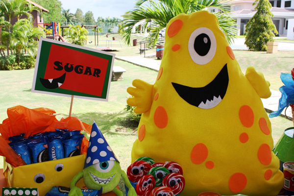 Monster Themed Birthday Party via Kara's Party Ideas | Kara'sPartyIdeas.com #monster #birthday #party (12)