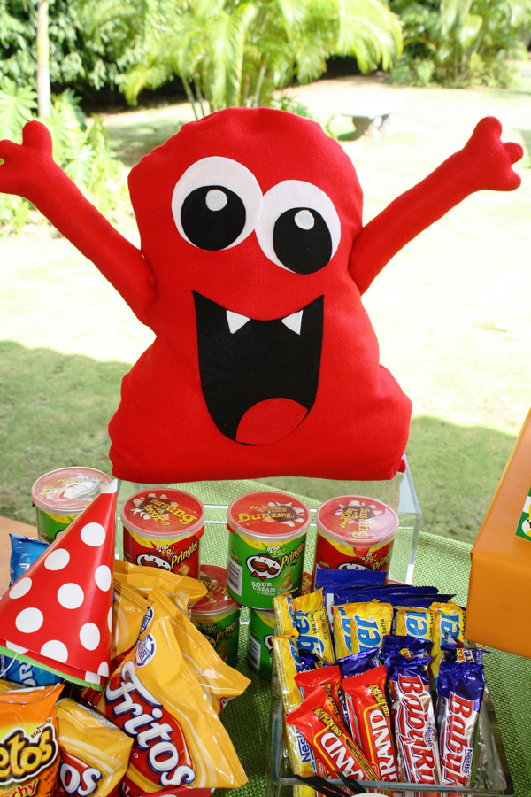 Kara S Party Ideas Monster Birthday Party Supplies Ideas