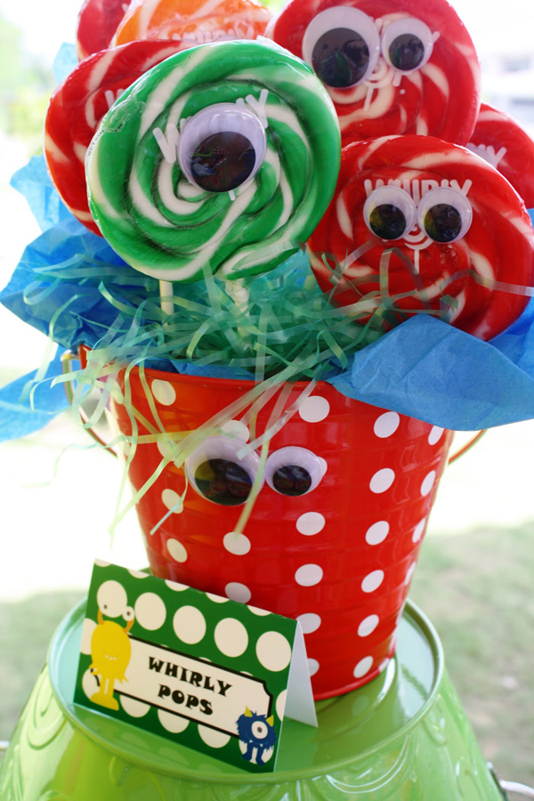Monster Themed Birthday Party via Kara's Party Ideas | Kara'sPartyIdeas.com #monster #birthday #party (8)