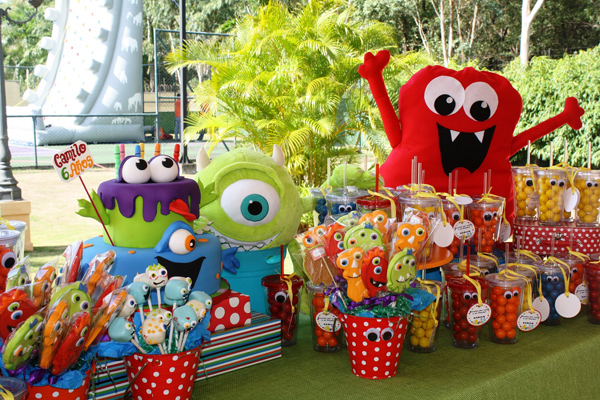 Monster Themed Birthday Party via Kara's Party Ideas | Kara'sPartyIdeas.com #monster #birthday #party (24)