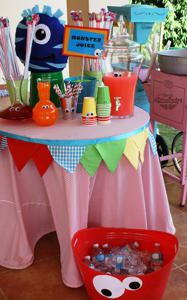 Monster Themed Birthday Party via Kara's Party Ideas | Kara'sPartyIdeas.com #monster #birthday #party (7)