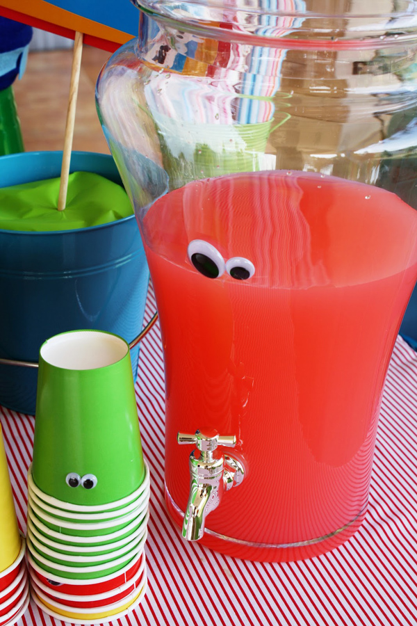 Monster Themed Birthday Party via Kara's Party Ideas | Kara'sPartyIdeas.com #monster #birthday #party (5)