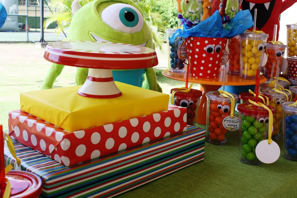 Monster Themed Birthday Party via Kara's Party Ideas | Kara'sPartyIdeas.com #monster #birthday #party (18)