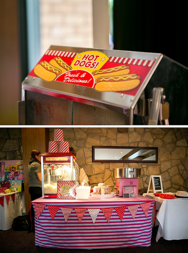 Big Top Circus Carnival themed birthday party FULL OF IDEAS! Via Kara's Party Ideas KarasPartyIdeas.com #circus #carnival #fair #birthday #party #supplies #ideas #decor #idea (3)